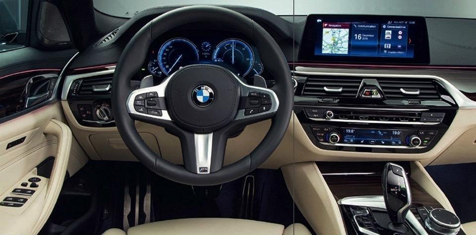 Появились первые официальные фотографии седана BMW 5-Series нового поколения. Фото 2