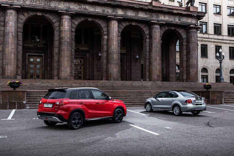 Тест VWPolo GTиSuzuki Vitara S— «спортивных» версий обычных машин