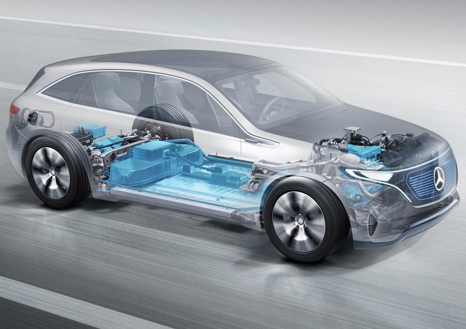 Какими получились предвестники электрокаров VWи«Мерседеса». Фото 2