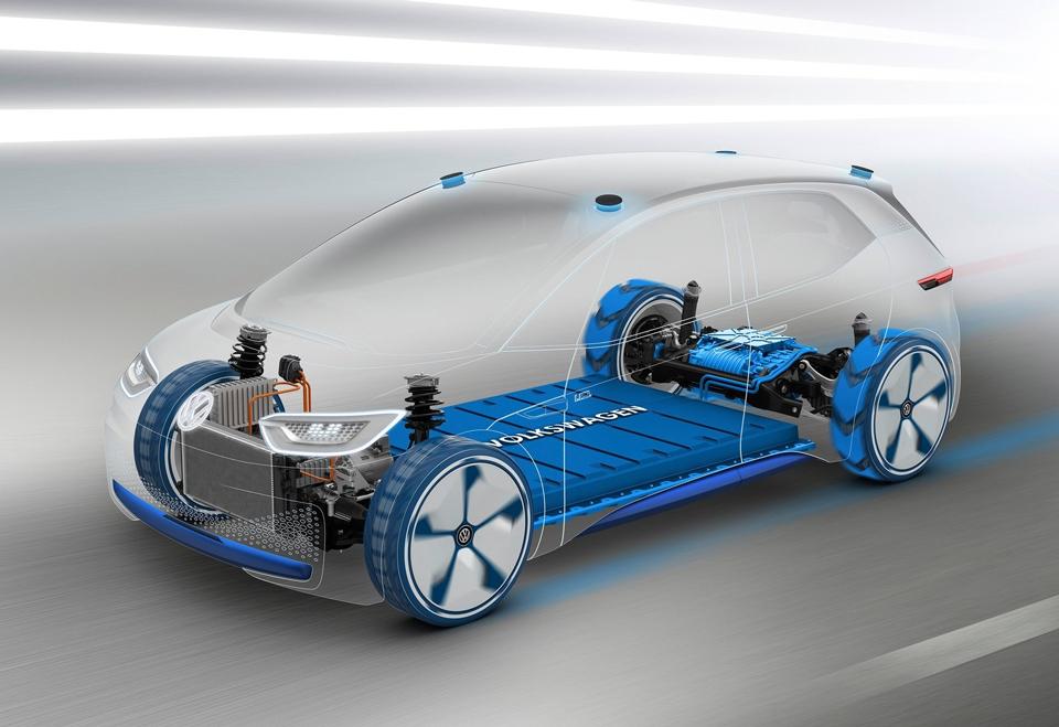 Какими получились предвестники электрокаров VWи«Мерседеса». Фото 3