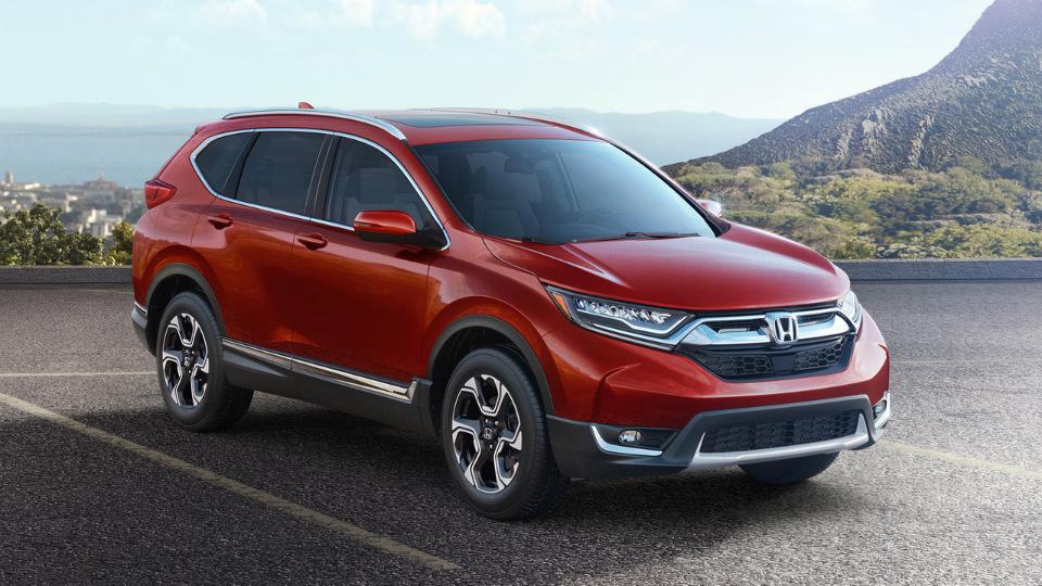 Кроссовер Honda CR-V получил турбомотор