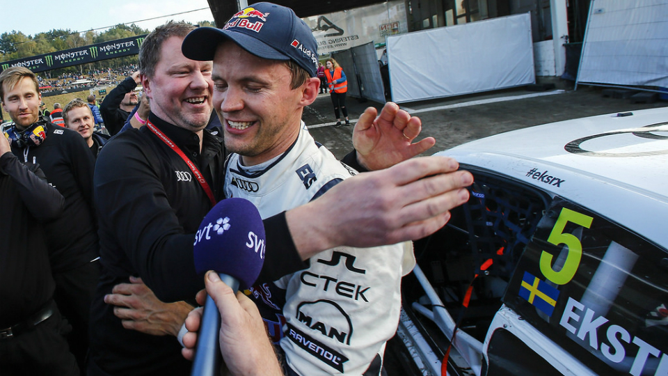 Швед победил вчемпионате заодин этап дофиниша. Фото 1