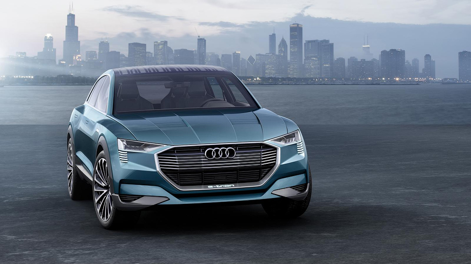 Ауди выпустит три серийных электромобиля к 2020-ому