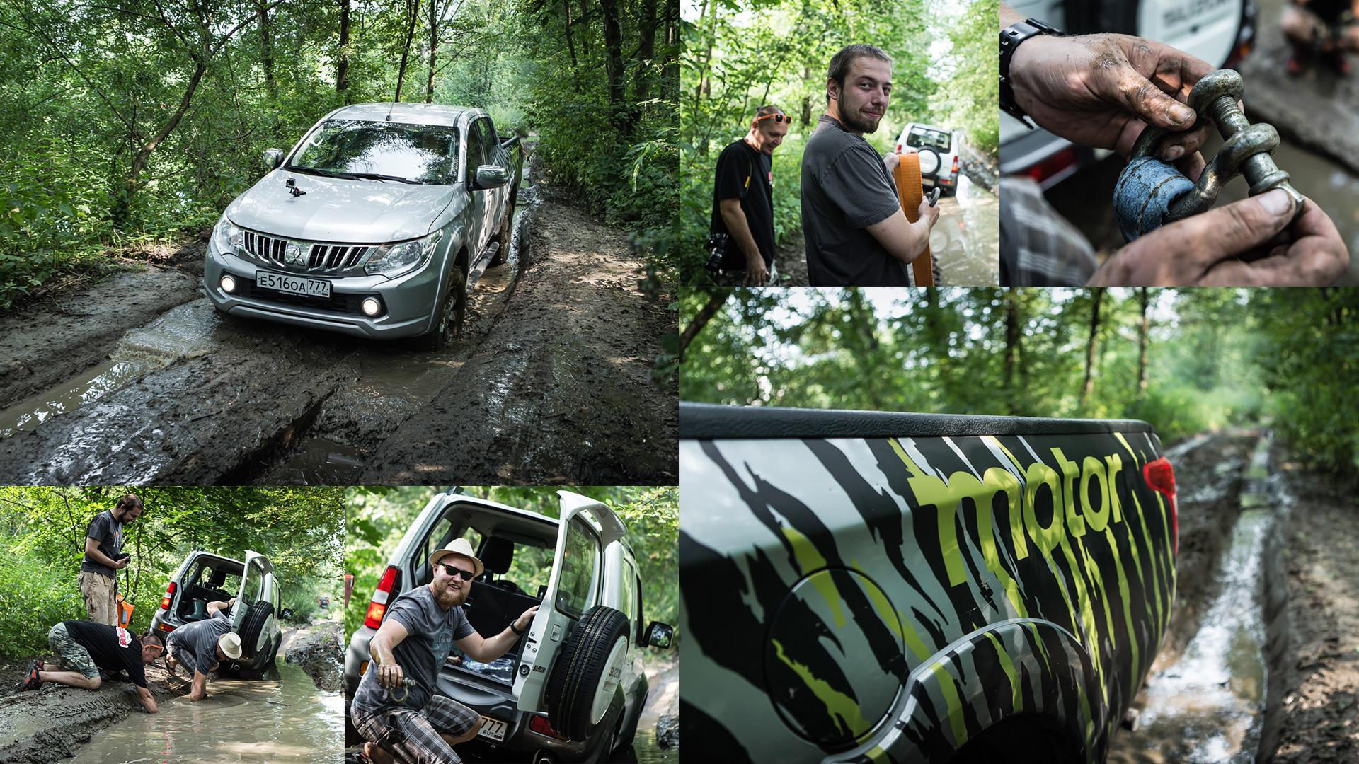 Неочень одухотворенные приключения Suzuki Jimny иJeep Wrangler набездорожье. Фото 11