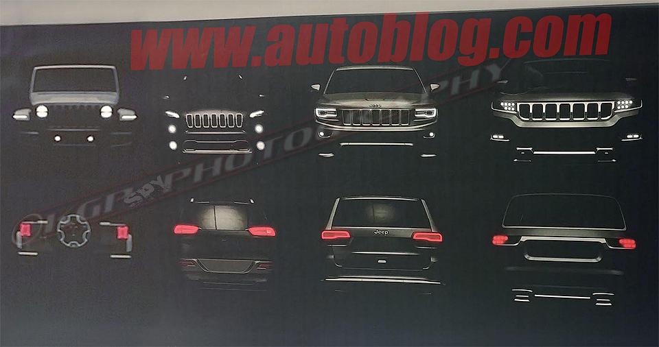 Появилось первое изображение нового джипа Jeep Grand Wagoneer