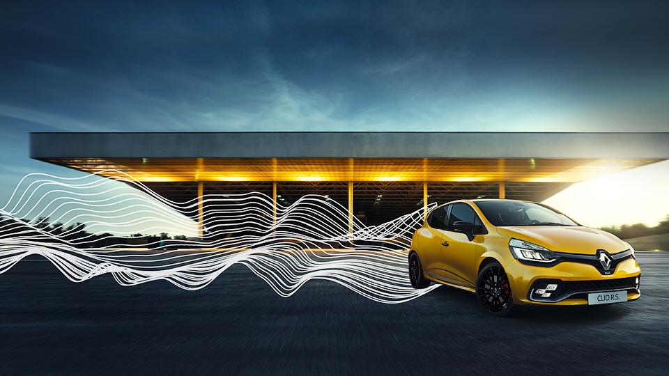 Renault предложила превратить вмузыкузвук выпуска Clio RS