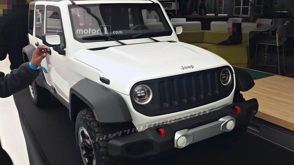 ВСети показали один извариантов нового Jeep Wrangler