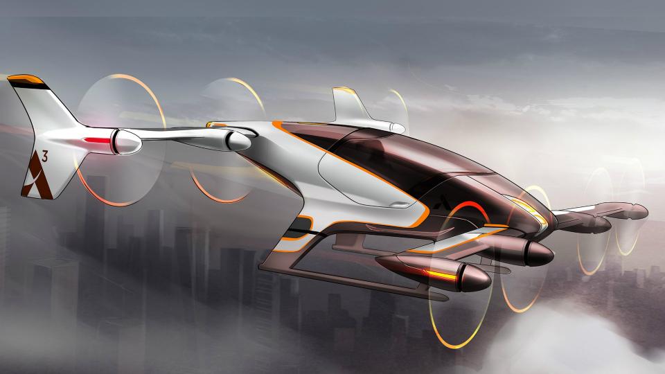 Воздушный Uber. Компания Airbus показала проект летающего такси