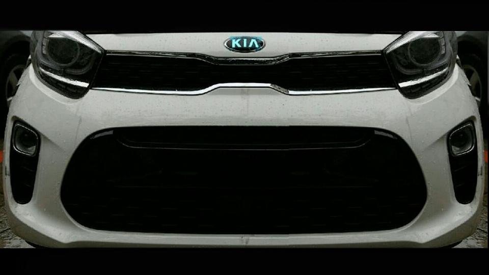 ВСеть просочился 1-ый снимок нового Кия Picanto
