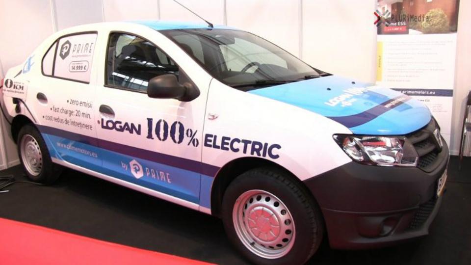 Электрический «Логан» сравнялся взапасе хода с«Теслой»
