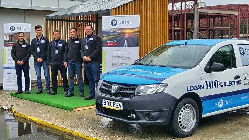 Румыны перевели седан Dacia Logan наэлектротягу