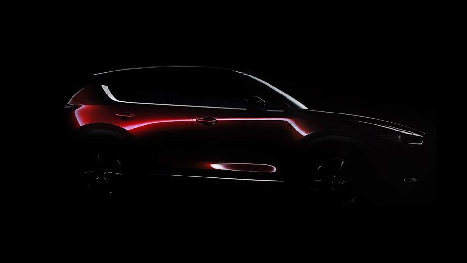 Mazda подготовила кпремьере новый CX-5