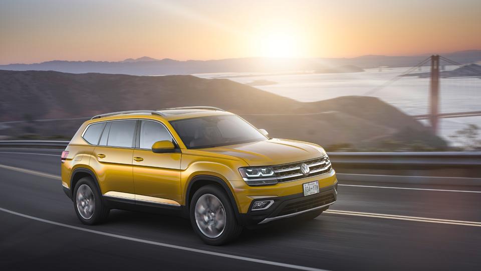 VW представил собственный наибольший кроссовер
