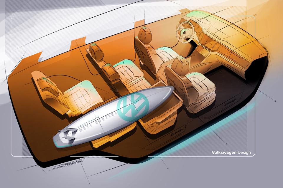 Среднеразмерный кроссовер VWAtlas разработан для рынка США. Фото 3