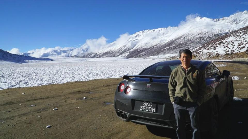 Nissan GT-R смог достигнуть высоты 5200 метров над уровнем моря