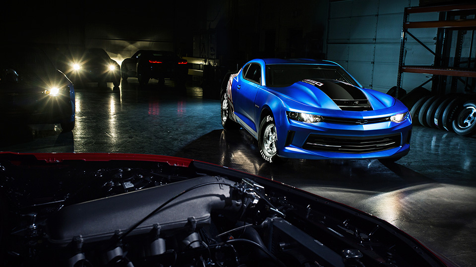 НаSEMA 2016 презентовали новый Шевроле Camaro COPO