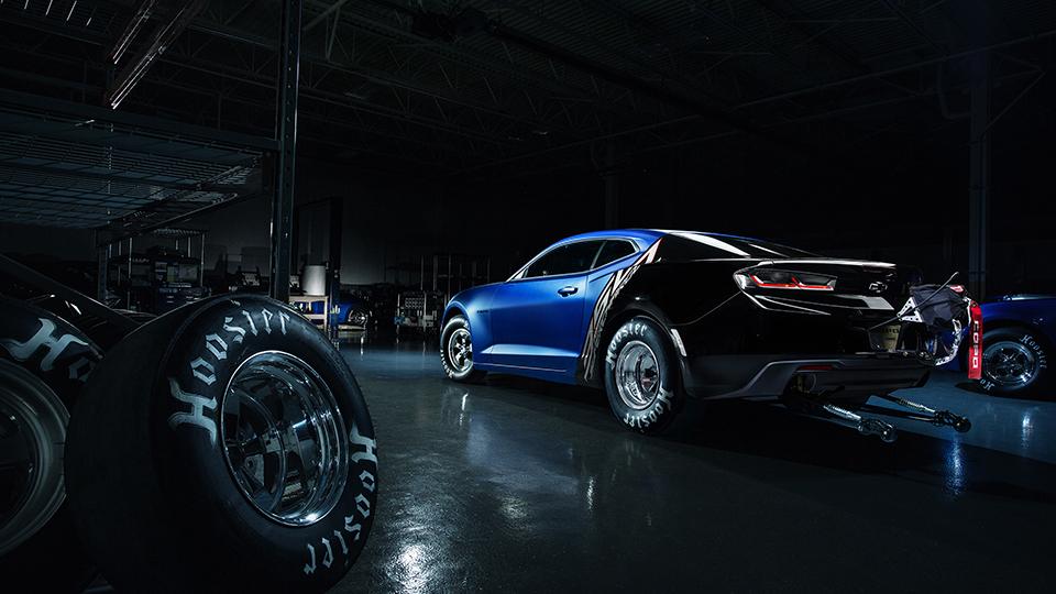 1-ый экземпляр нового Camaro для дрэга пустят смолотка