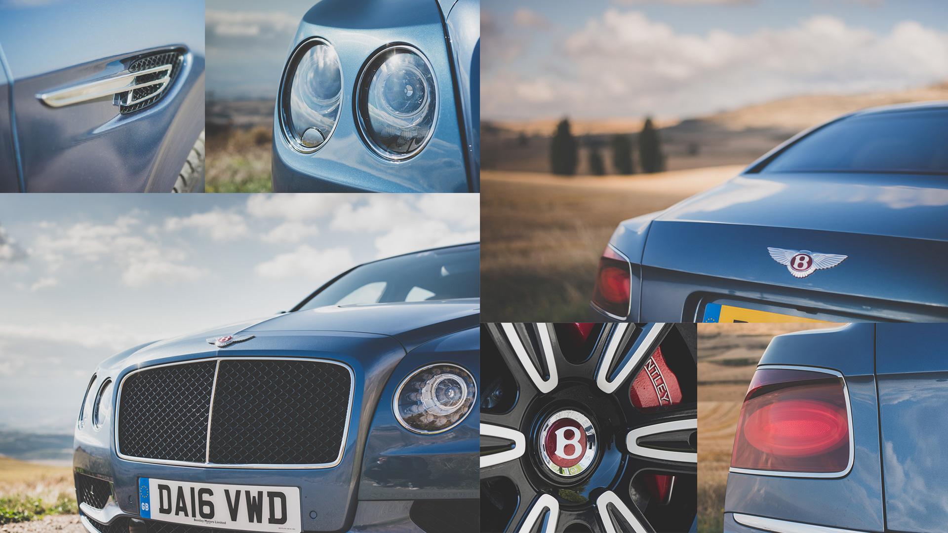 Как повлияла буква Sнатемперамент Bentley Flying Spur V8. Фото 3