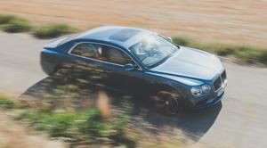 Как повлияла буква Sнатемперамент Bentley Flying Spur V8. Фото 11