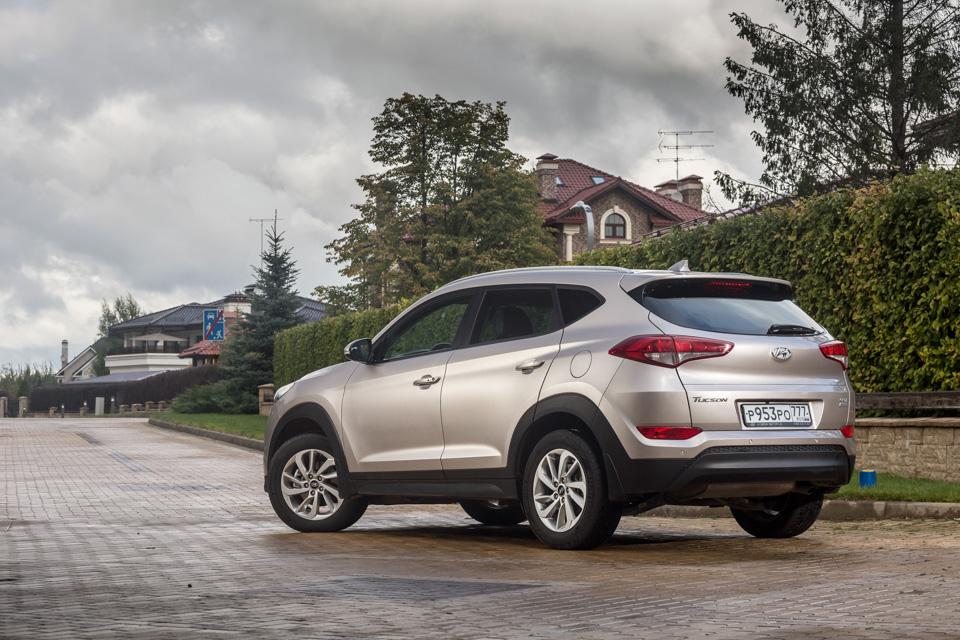 Длительный тест Hyundai Tucson: первые впечатления. Фото 2