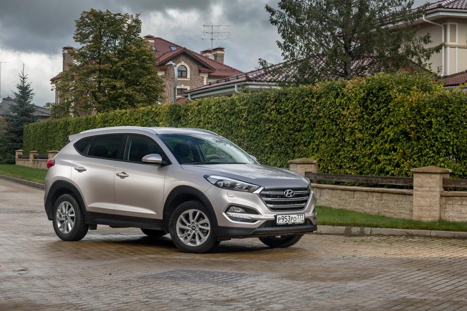 Длительный тест Hyundai Tucson: первые впечатления. Фото 5