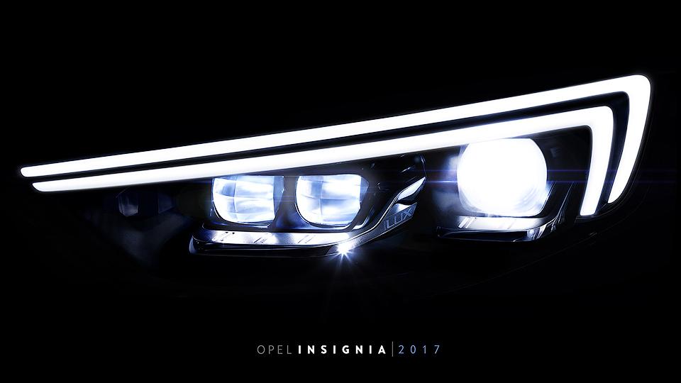 Новая Opel Insignia получит матричные светодиодные фары