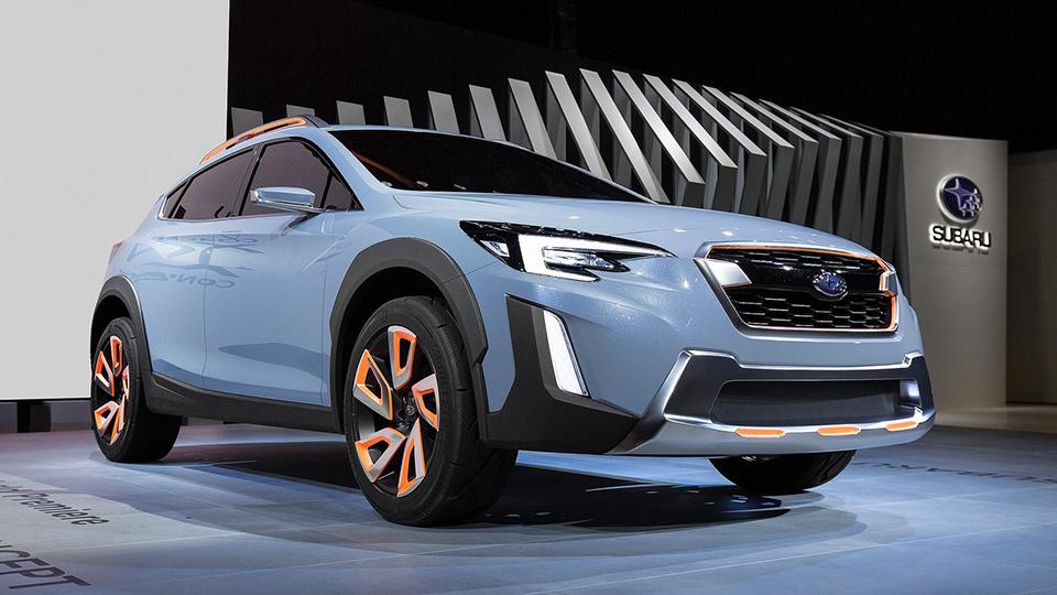 Следующий Subaru XVпривезут вРоссию через год
