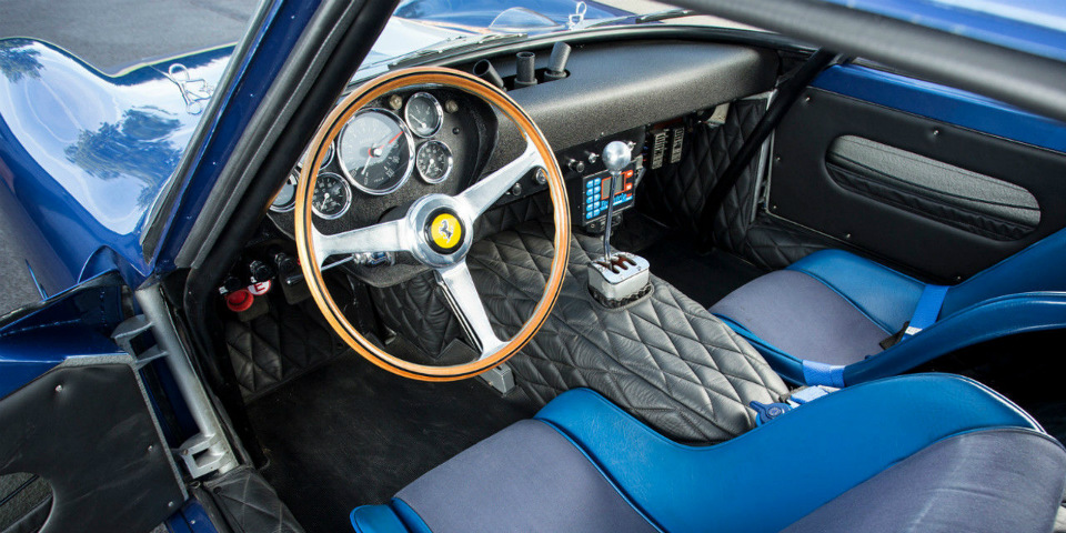 ВВеликобритании выставили напродажу купе Ferrari 250 GTO 1962 года выпуска. Фото 3