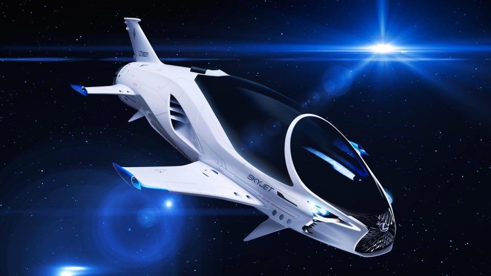 ВLexus разработали космический корабль