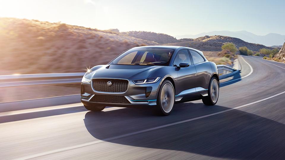 Первый электрокар Jaguar появится вРоссии в2018 году