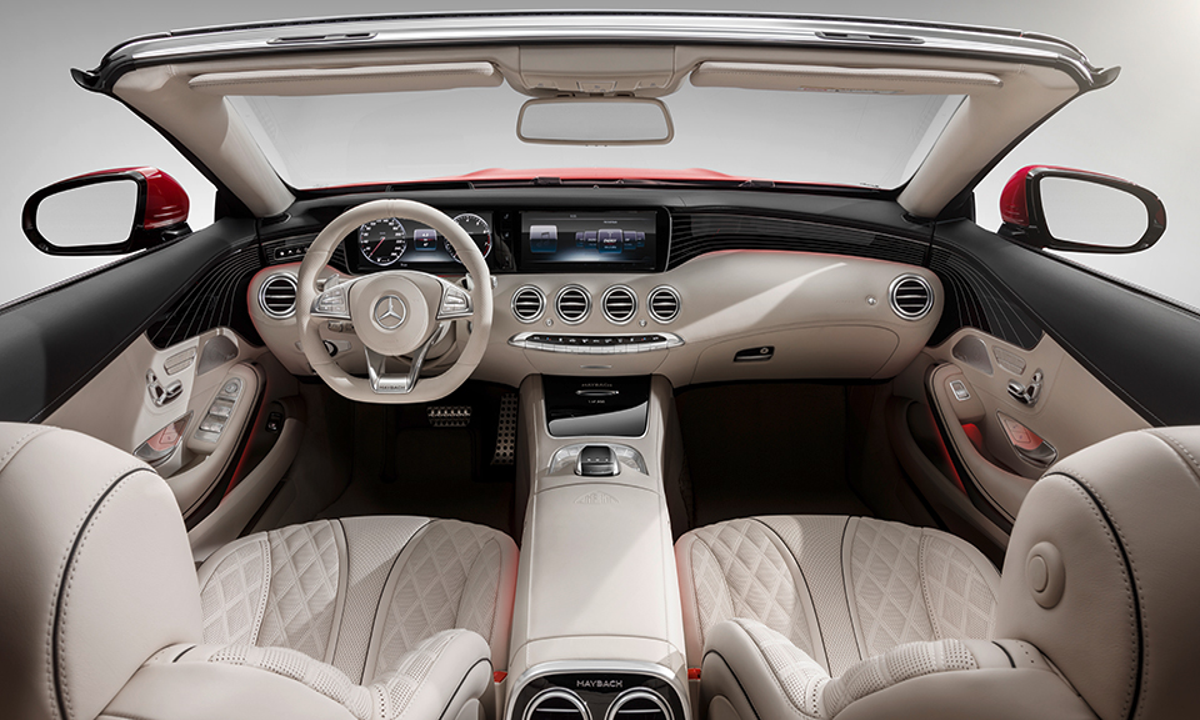 Представлен люксовый кабриолет Mercedes-Maybach S650