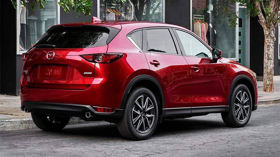 Mazda CX-5 второго поколения представили вЛос-Анджелесе
