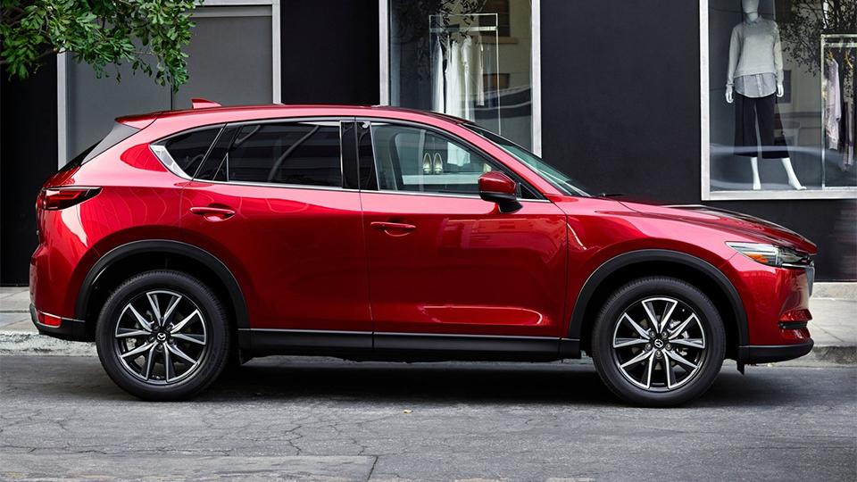 Mazda CX-5 второго поколения представили вЛос-Анджелесе. Фото 1