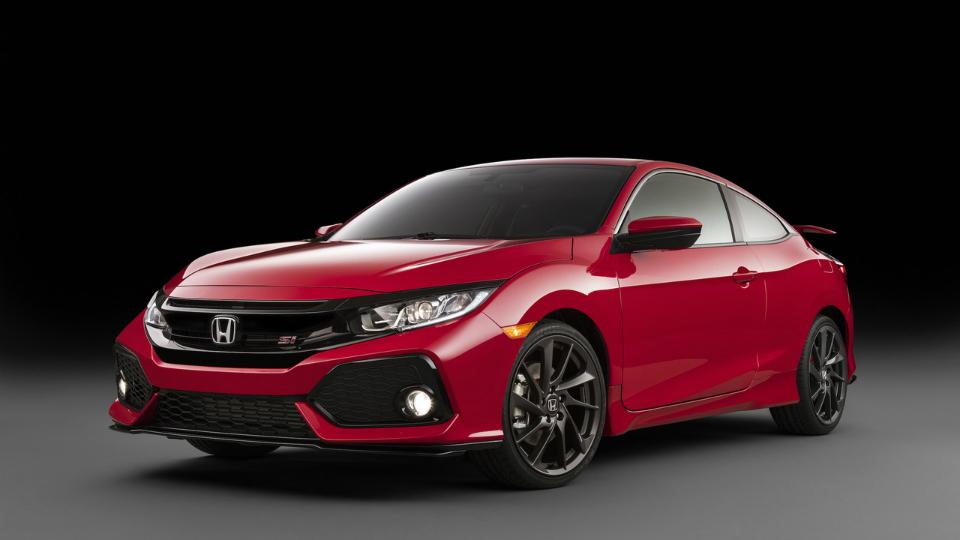 Хонда рассекретила прототип самого мощного Civic Coupe