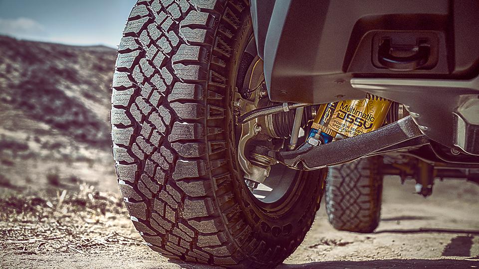 Пикап Chevrolet Colorado ZR2 получил подвеску сзолотниковыми клапанами