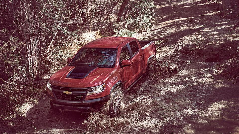 Пикап Chevrolet Colorado ZR2 получил подвеску сзолотниковыми клапанами. Фото 1