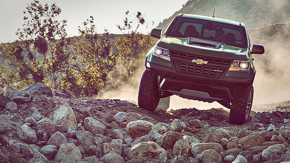 Пикап Chevrolet Colorado ZR2 получил подвеску сзолотниковыми клапанами. Фото 2