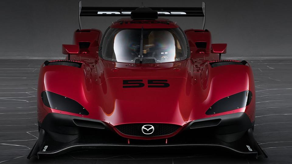 Компания Mazda представила гоночный прототип RT24-P. Фото 1