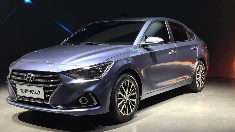 Hyundai заполнил нишу между Solaris иElantra новым седаном