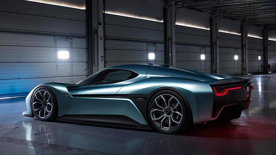 1360-сильное купе NextEV наберет сотню за2,7 секунды