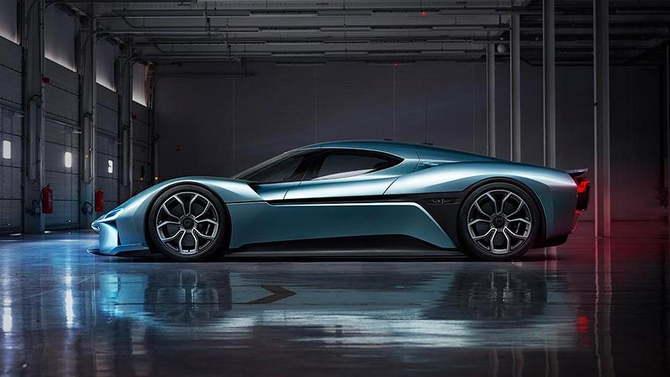 1360-сильное купе NextEV наберет сотню за2,7 секунды. Фото 1