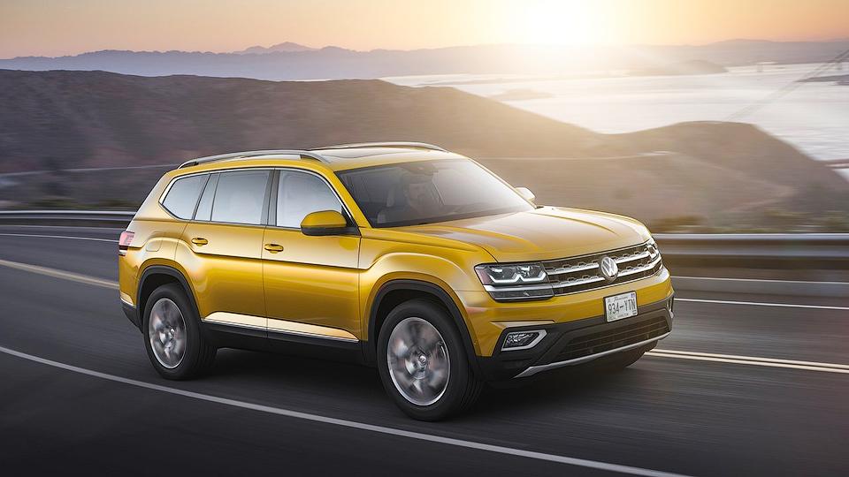 Кроссовер VW Atlas начнут поставлять в РФ в предстоящем 2017-ом