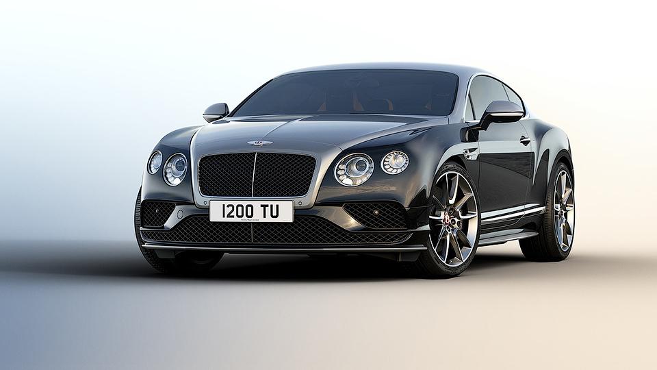 ВBentley сделали специально для России особые Continental GT