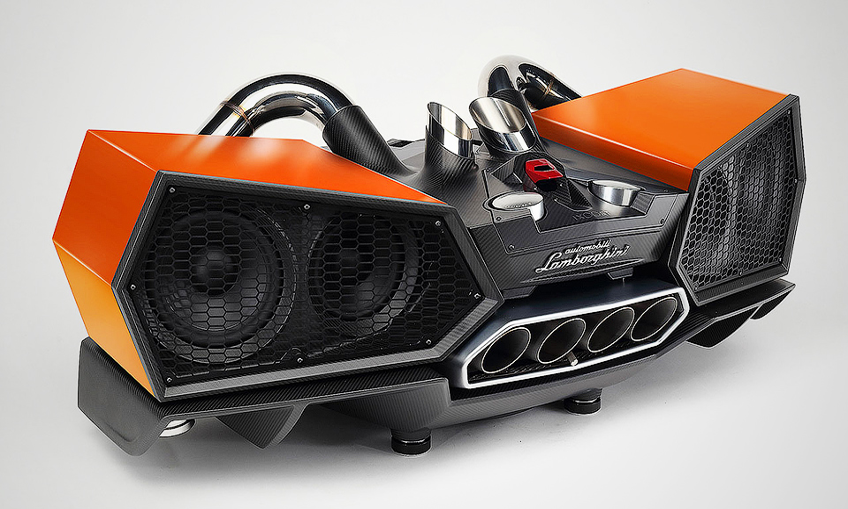 Lamborghini иiXoost представили неповторимую стереосистему Esavox