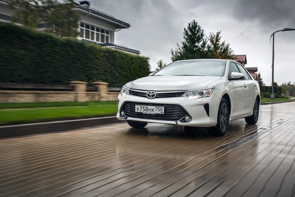 Длительный тест Toyota Camry с«Яндекс. Навигатором»: часть первая. Фото 6