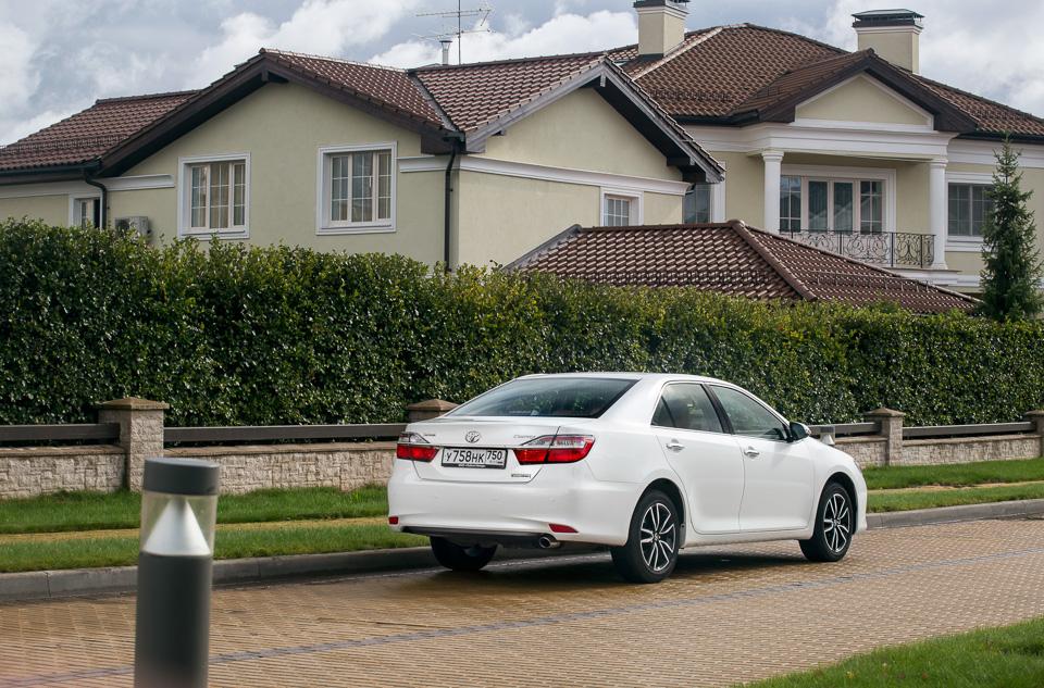 Длительный тест Toyota Camry с«Яндекс. Навигатором»: часть первая. Фото 5
