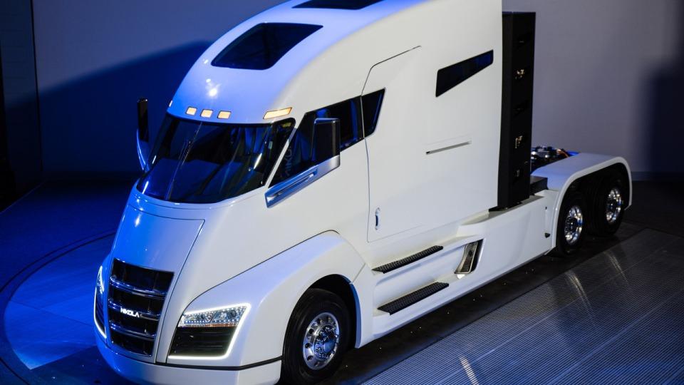 Водородный грузовой автомобиль Nikola One: высокий исовсем другой