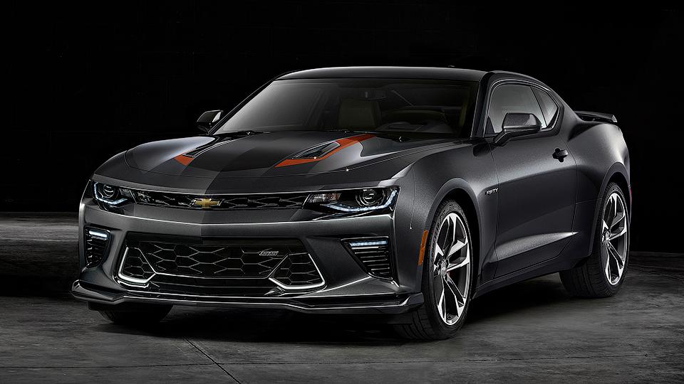 ВРоссии появился «юбилейный» Chevrolet Camaro