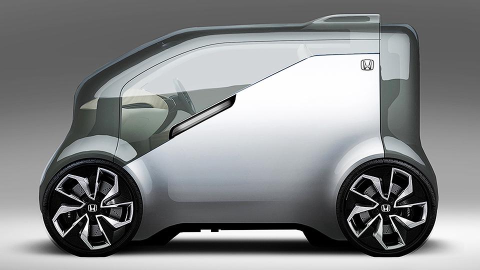 Хонда покажет NeuV сискусственным интеллектом зимой 2017г