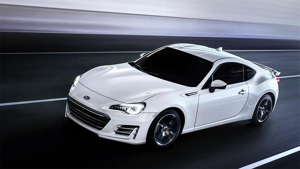 Компания Subaru обновила купе BRZ